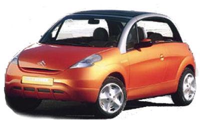 Présentation du concept car Pluriel, qui a annoncé la version décapotable de la Citroën C3.